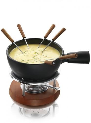 Traditionele kaasfondue met een twist