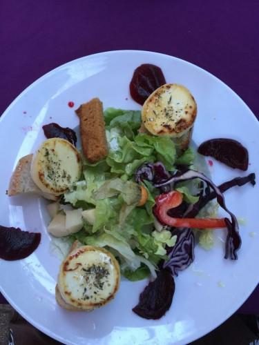 Zoete salade