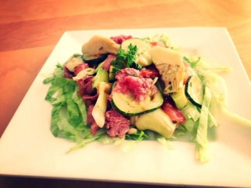 rosbief artisjokken salade2