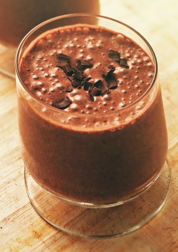 banaan-chocolade smoothie